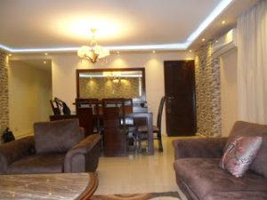 شقة مفروشة هاى لوكس 200م في شارع جامعة الدول العربية كما يوجد مساحات 120م  150م  170م 250م  119