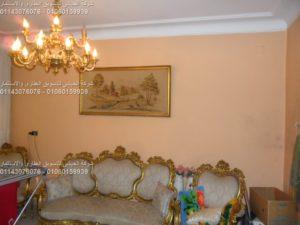 شقة للبيع بالدقى لدواعى السفر بشارع التحرير الرئيسى 3غرف